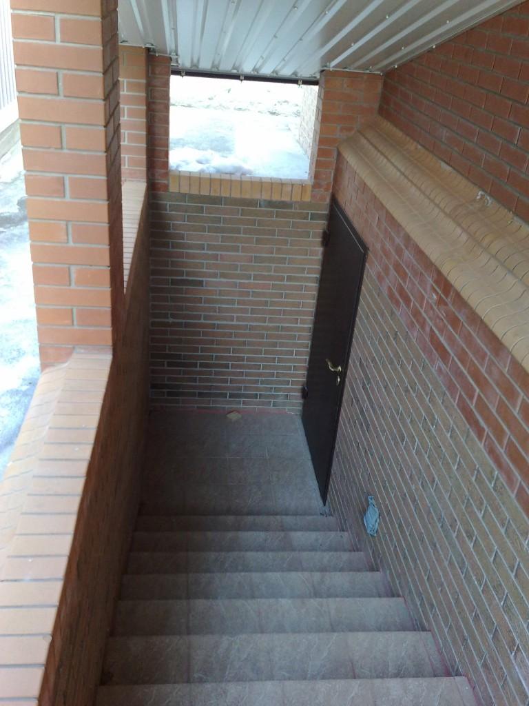 Лестница подвала своими руками