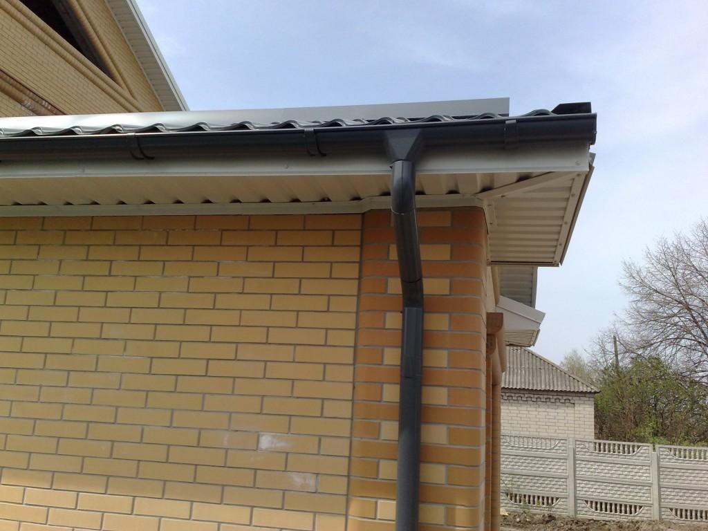 Стёки на крышу