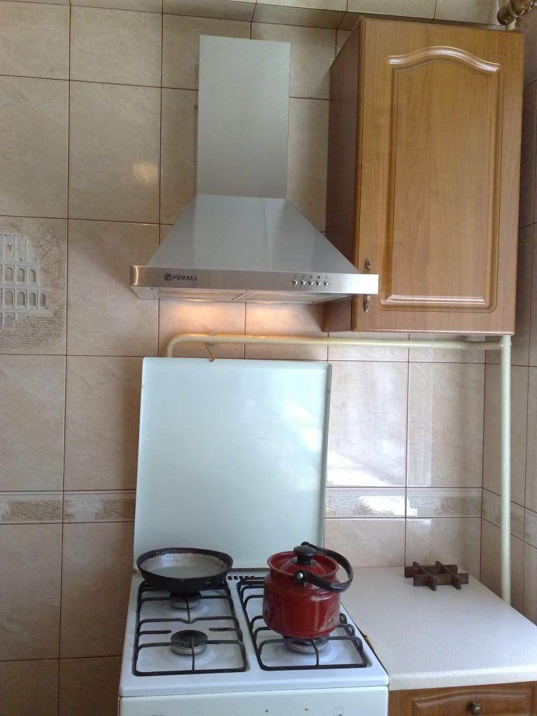 Вентиляция в кухне.