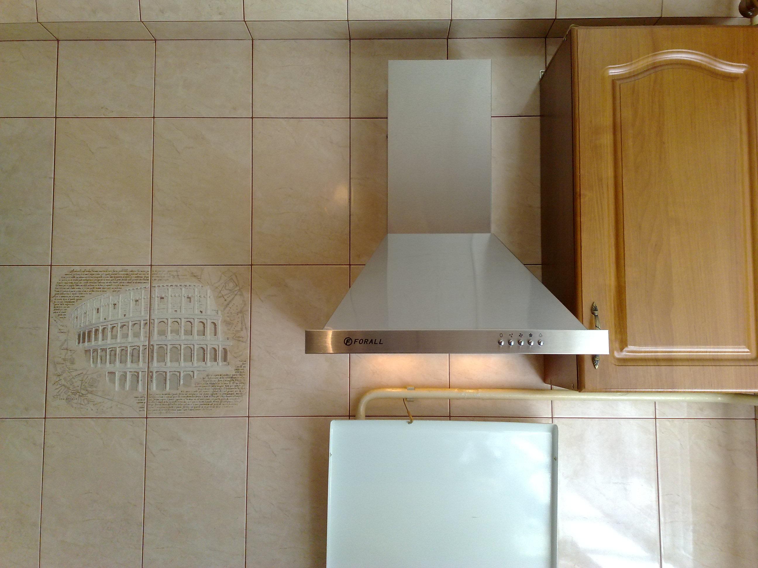 обратный клапан для вытяжки на кухне фото
