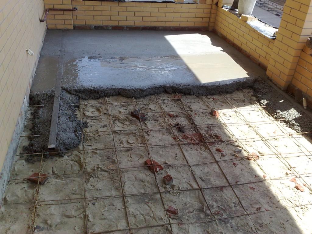 Как правильно залить бетонный пол.