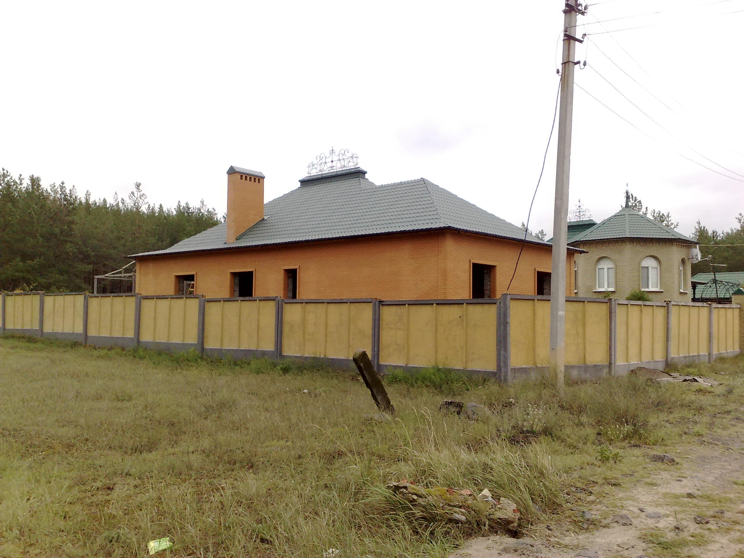 Одноэтажный теплый дом