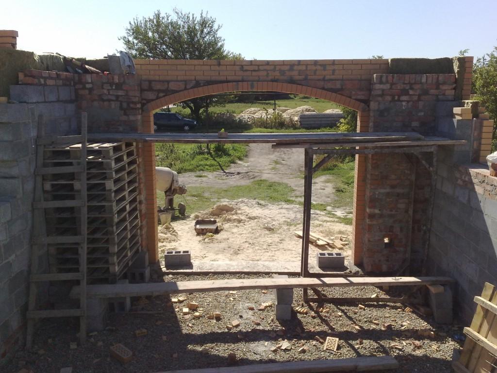 Вид арки изнутри.