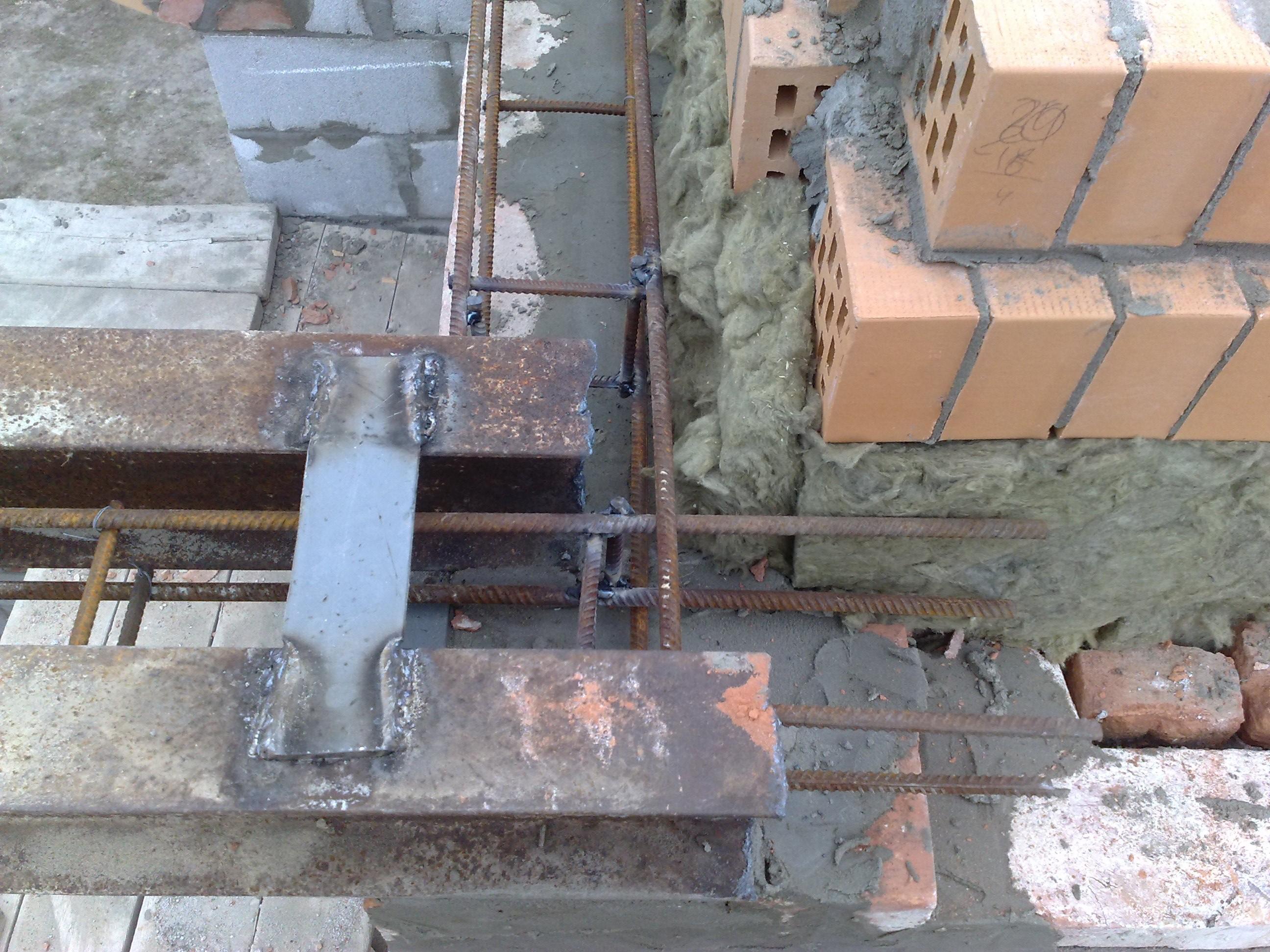 Перекрытие балкона в кирпичном доме..