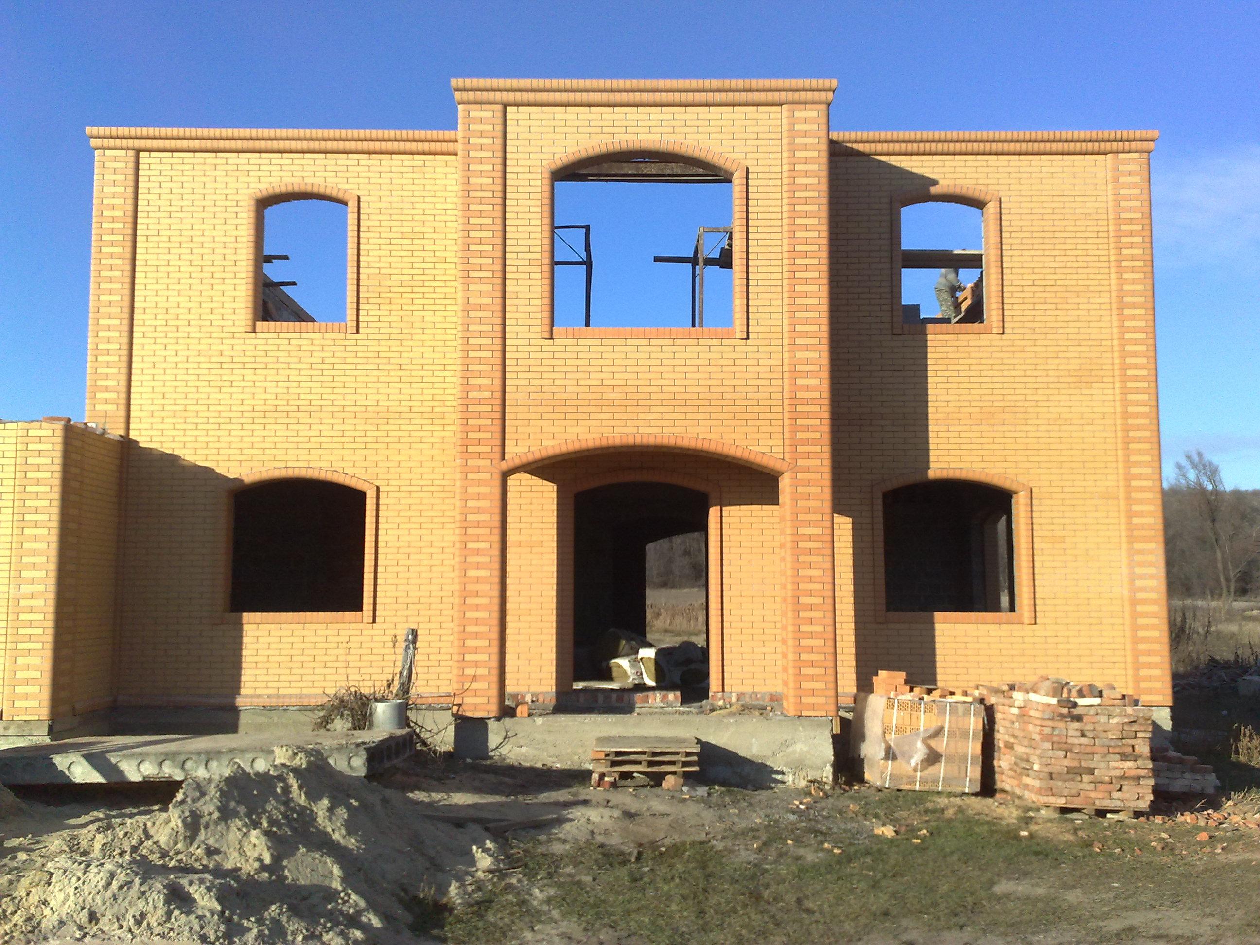 По чем построить кирпичный дом 152