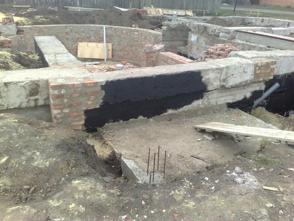 Фундамент под колонны