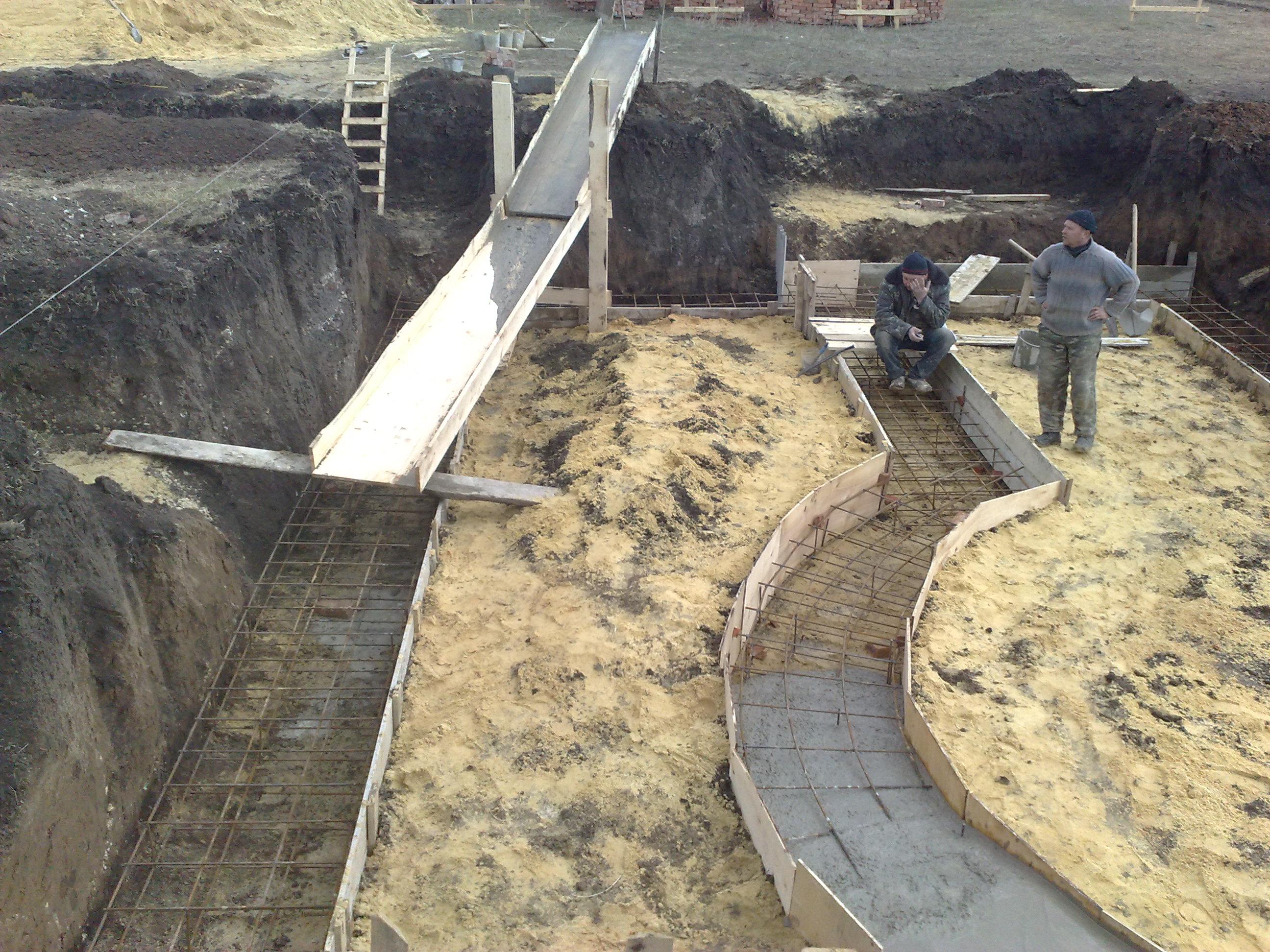 Водосток бетонный своими руками