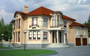 Фасад и сбоку