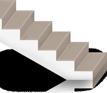 Преимущества и недостатки лестниц