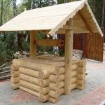Из какой древесины можно сделать сруб для колодца?